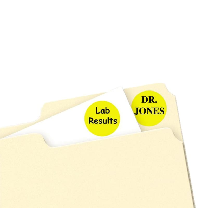 Avery® Removable Handwrite Colour Coding Labels
