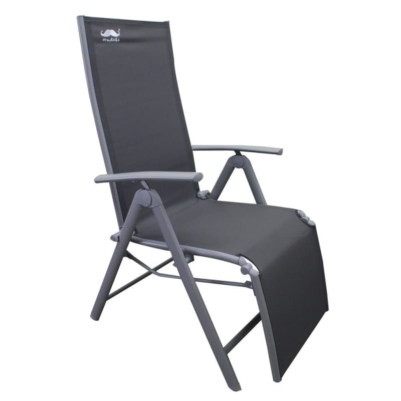 Zero Gravity Lounge Chair, Camping Relax Chair, Patio Garden Chair, Gray - Moustache®