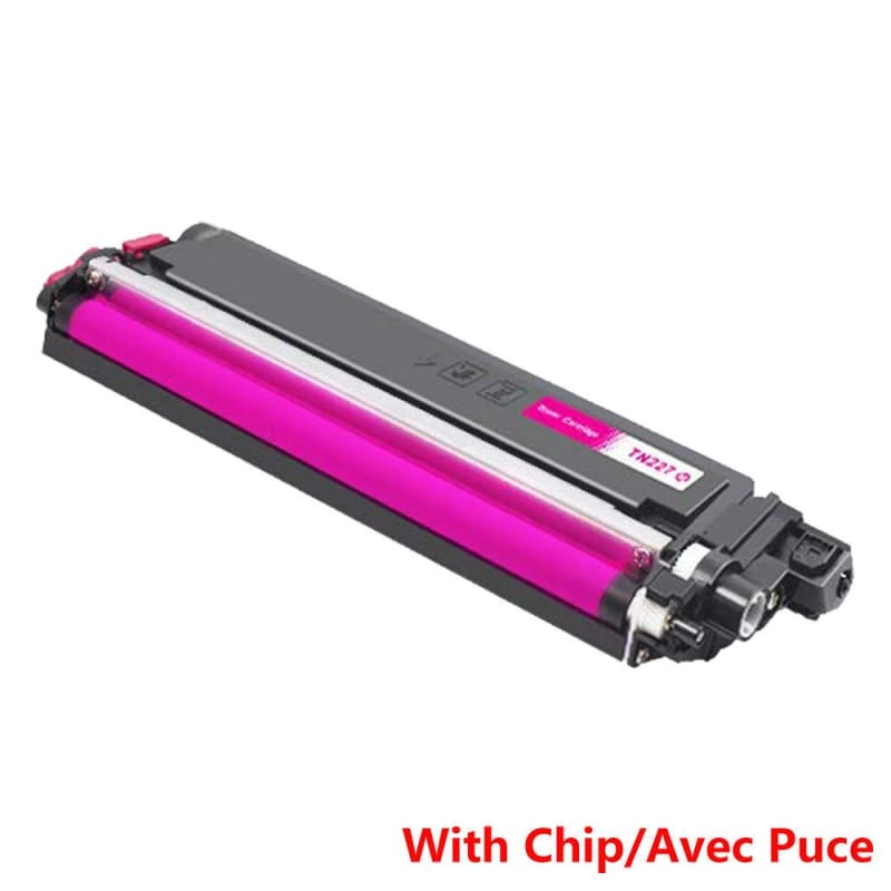 Compatible Brother TN-227 Magenta Toner Cartridge High Yield Version of TN-223 - Economical Box