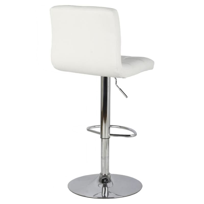 Swivel Adjustable Bonded-Leather Bar Stool - Moustache®