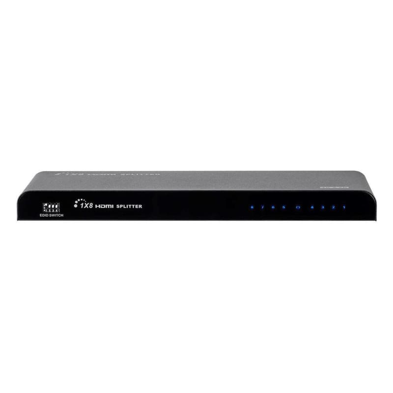 Blackbird 4K Pro 1x8 HDMI Splitter with EDID Management - Monoprice®