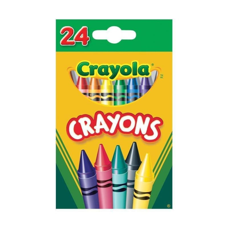 Crayola® Markers Classic Wax Crayons Colors Pack