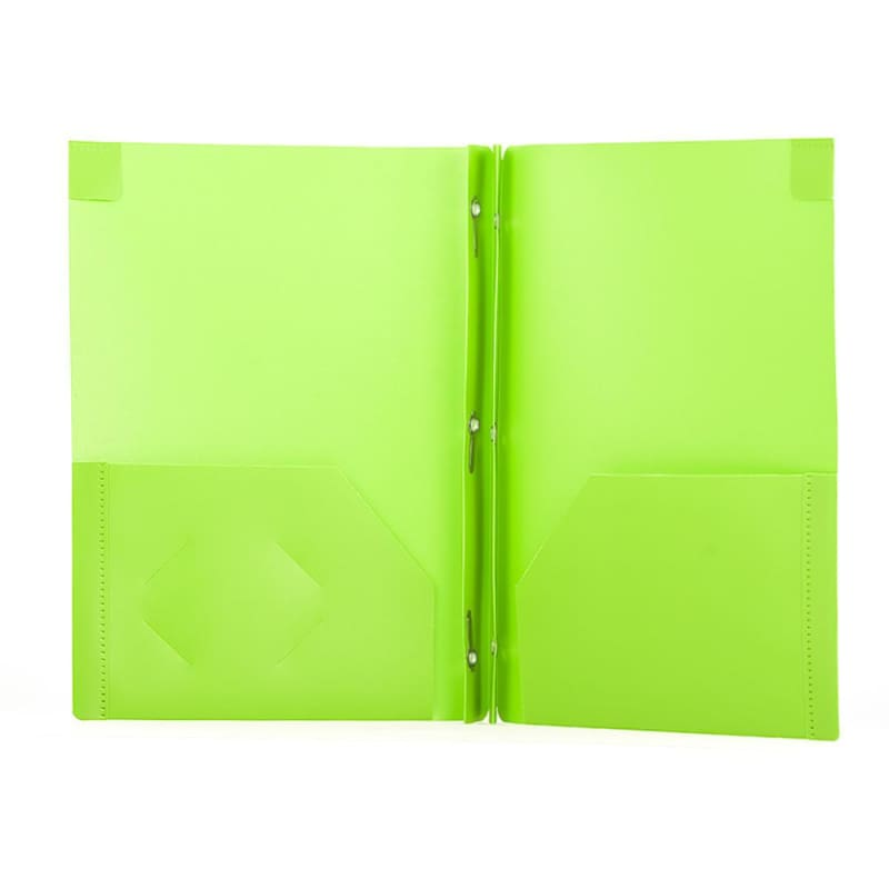 GEO DUO-TANG Poly Presentation Cover - Random Colours, 1/ pack