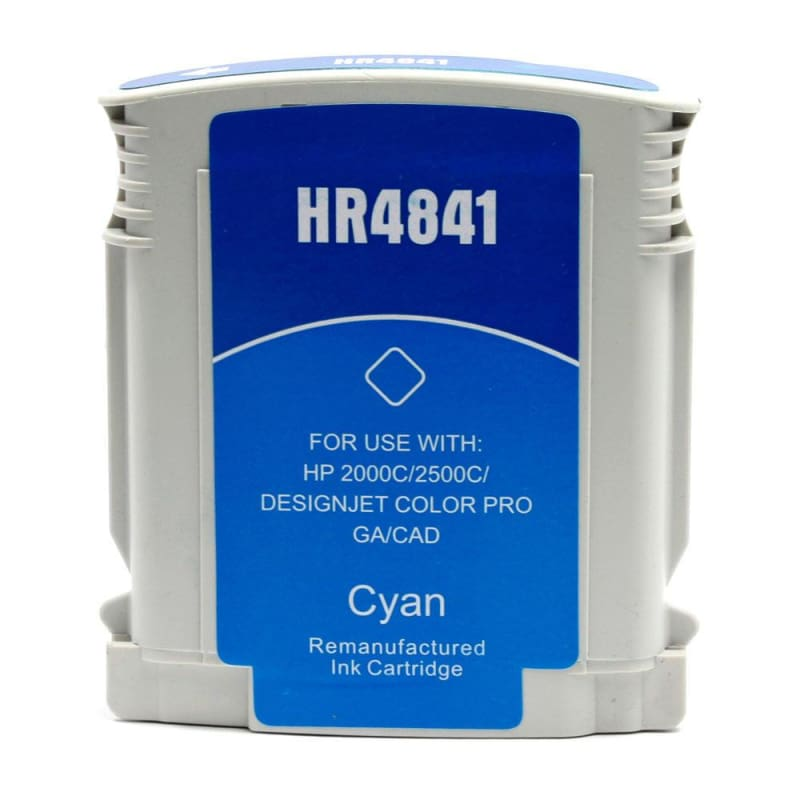 Compatible HP 10 C4841A Cyan Ink Cartridge
