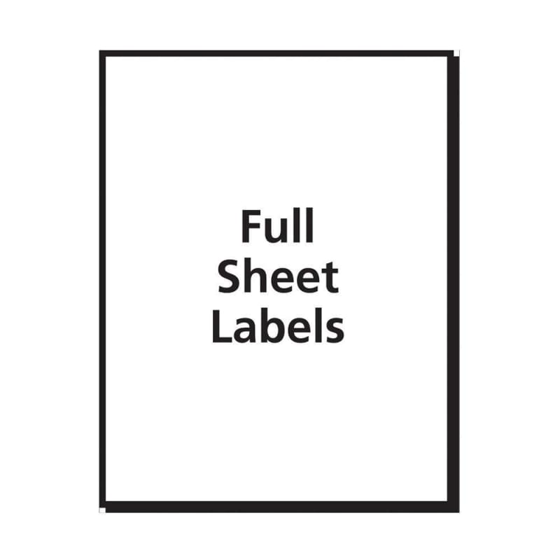 Avery® Multi-Use Removable Laser/Inkjet Labels
