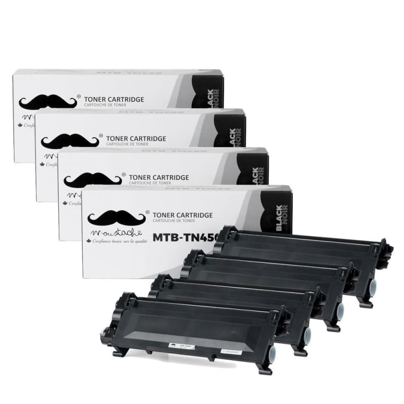Compatible Brother TN-450 Black Toner Cartridge High Yield - Moustache®