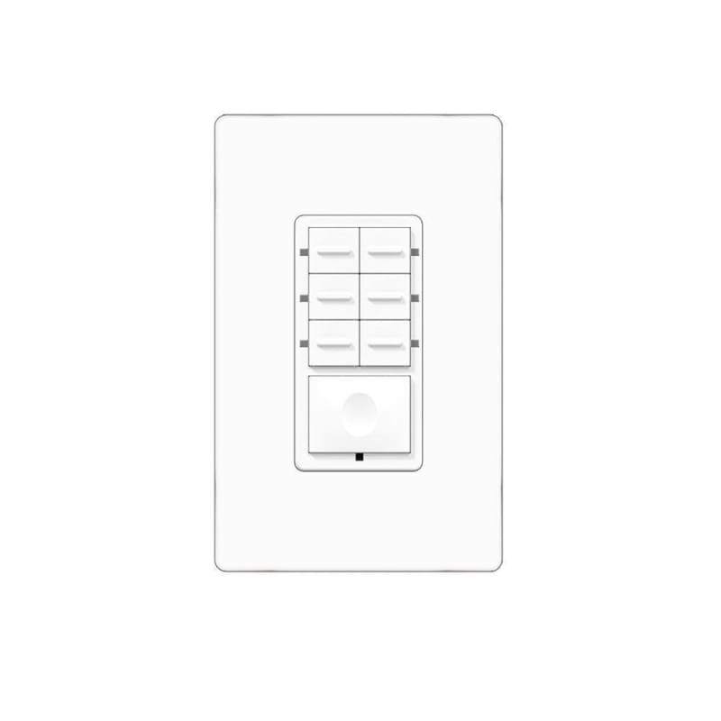ZigBee Smart Scene Controller with 7 Programmable Switches - LivingWise