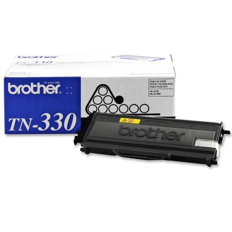 Brother TN-330 Original Black Toner Cartridge