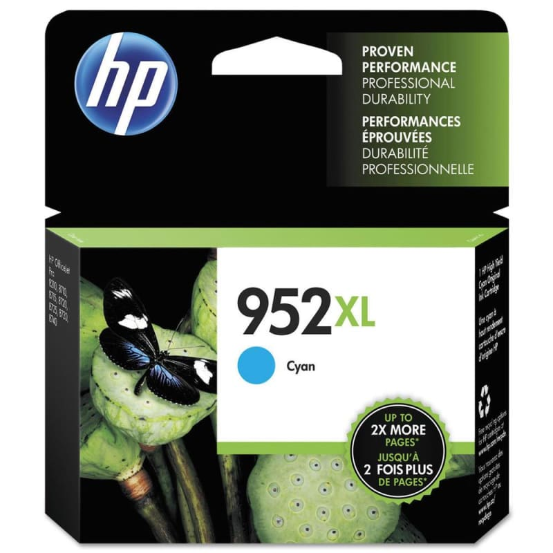 HP 952XL L0S61AN Original Cyan Ink Cartridge High Yield