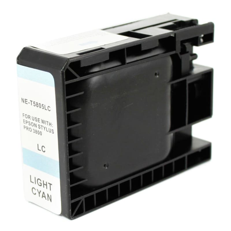 Compatible Epson T580500 Light Cyan Ink Cartridge Pigment