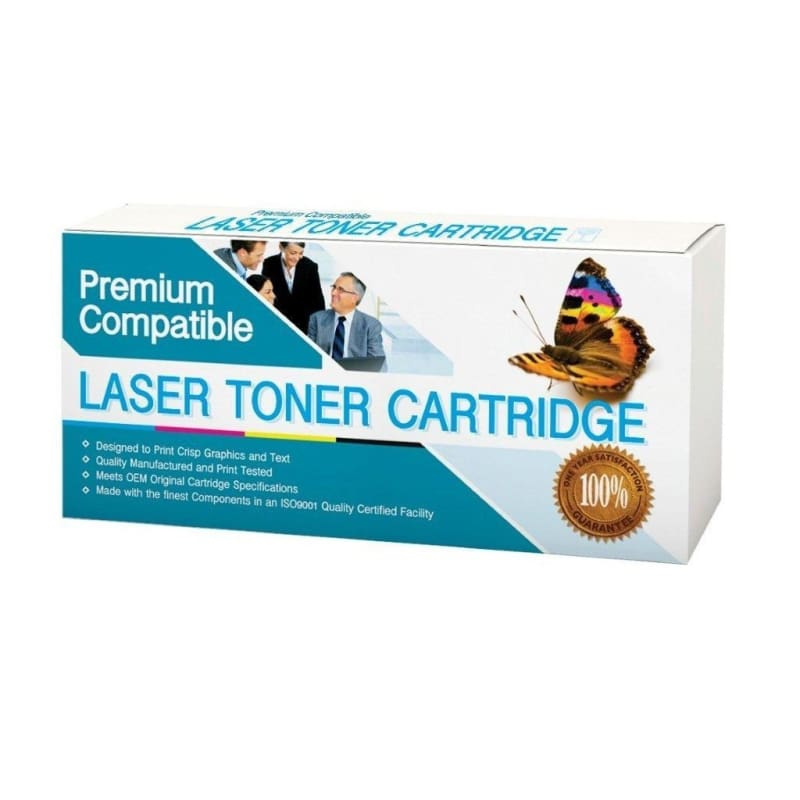 Compatible Brother TN-880 Black Toner Cartridge Extra High Yield 2 Pack - Economical Box