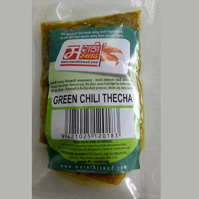 Marathi Swad Green Chilli Thecha 100gm