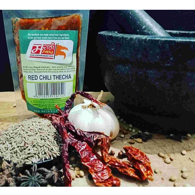 Marathi Swad Red Chilli Thecha 100gm