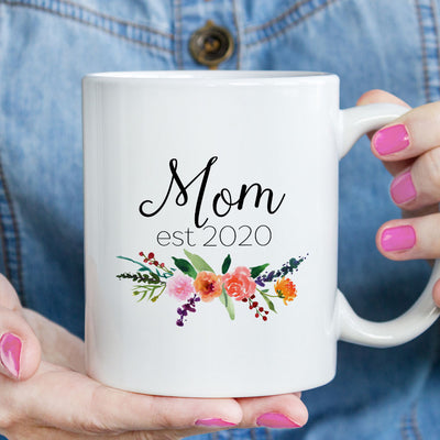 Mom est 2020 or 2021 Mug (M471)