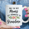Only The Best Moms Get Promoted to Grandma Mug (M1708)