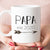 Papa est 2020 or 2021 Coffee Mug, New Papa Pregnancy Announcement Gift (M462)