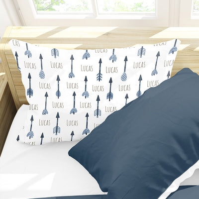 "Personalized Arrow All Over Print Kids Name Pillow Case 30"" x 20"" (P113)"