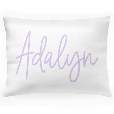 "Personalized Signature Name Kids Pillow Case 30"" x 20"" (P114)"