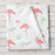 Flamingo Personalized Fleece Baby Girl Blanket (BB305)