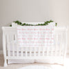 Personalized Baby Girl Name Blanket, Coral