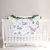 Mermaid personalized fleece baby blanket (BB303)