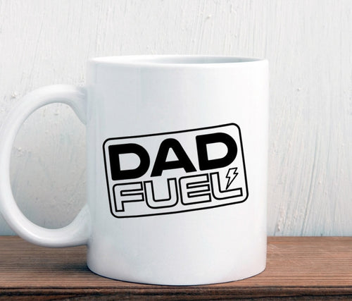 Dad fuel mug, gift for new dad, father's day mug (M416)