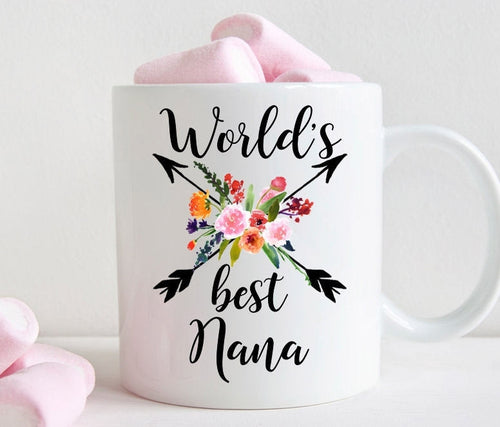 Nana coffee mug, World's Best Nana gift (M457)