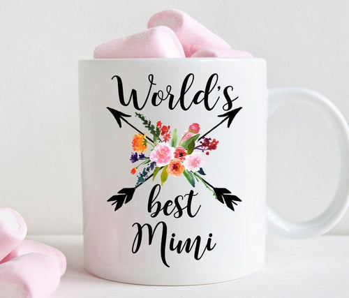 Mimi Coffee Mug, World's Best Mimi Gift (M456)