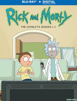 Rick And Morty: The Complete Seasons 1-3 (HDX)