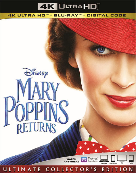 Mary Poppins Returns (4K)