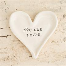 """You Are Loved"" Ring Dish"