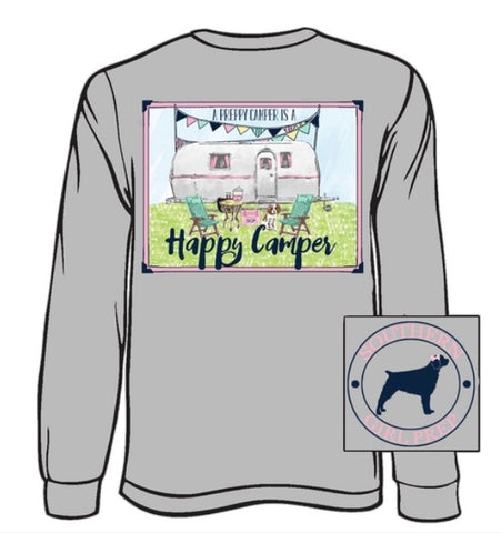 """Happy Camper"" Youth Tee"