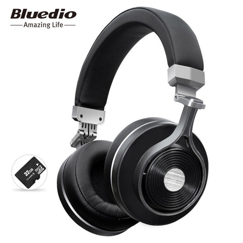 ONLY 4 LEFT!! - Bluedio T3 Wireless Bluetooth Headphones with Microphone/Micro SD Card Slot