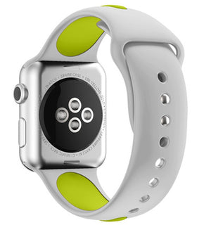 38 & 42mm Band For Apple Watch Soft Silicone Sport Style