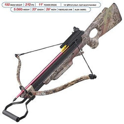 150 Pound Draw Recurve Crossbow Foldable Camo Rifle Cross bow