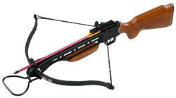 Hunters Crossbow 150 lbs Wooden Stock