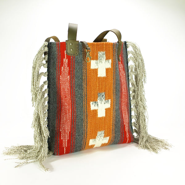 """Equal Sided Crosses"" Tote"
