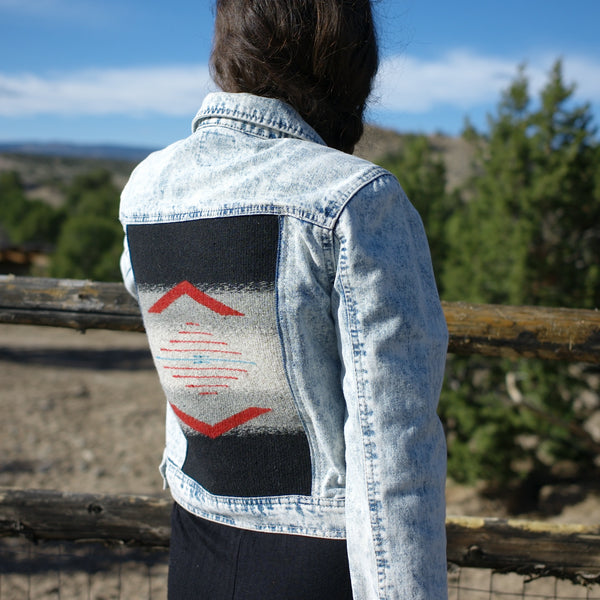"""Third time's a charm"" Denim Jacket (L junior)"