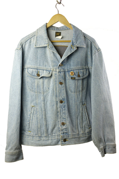 """ Autumntime "" Denim Jacket (L men's)"