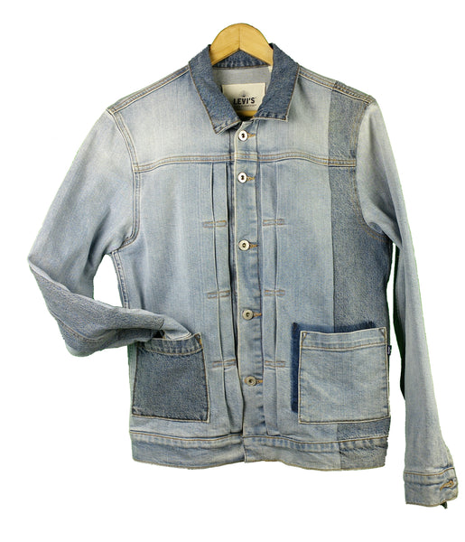 """ Three + Two "" Denim Jacket (1, S men's)"