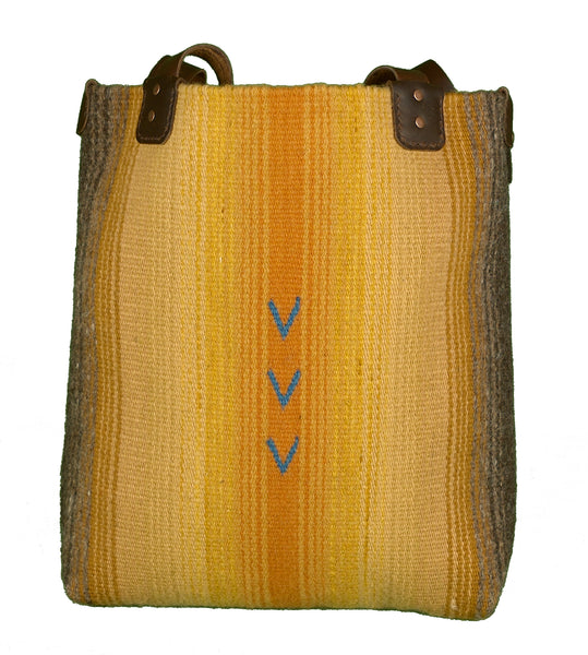 """Natural stripes"" Tote"
