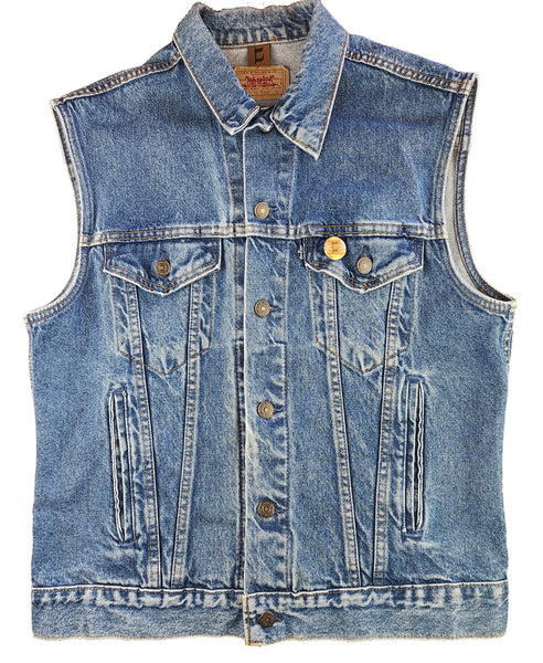 L (men's) Denim Vest