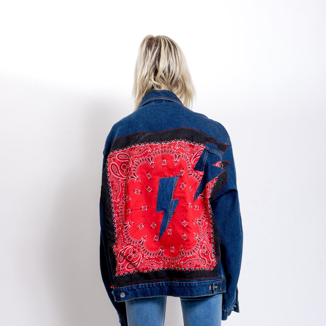 Denim Bolt Jacket
