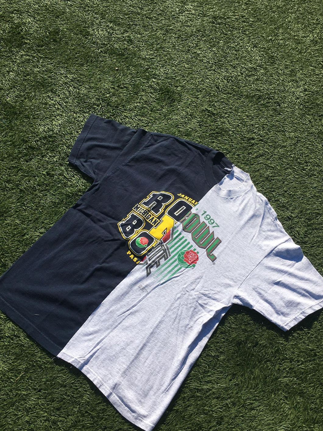 Ohio State/ Michigan Rose Bowl Split Tee