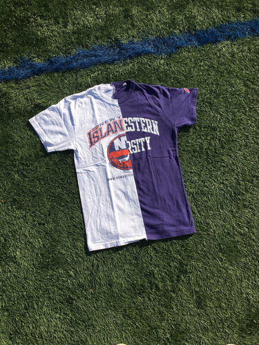 New York Islanders/ Northwestern Split Tee