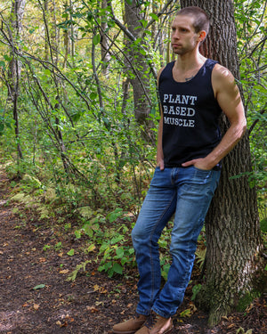 Plant Based Muscle Men's Tank
