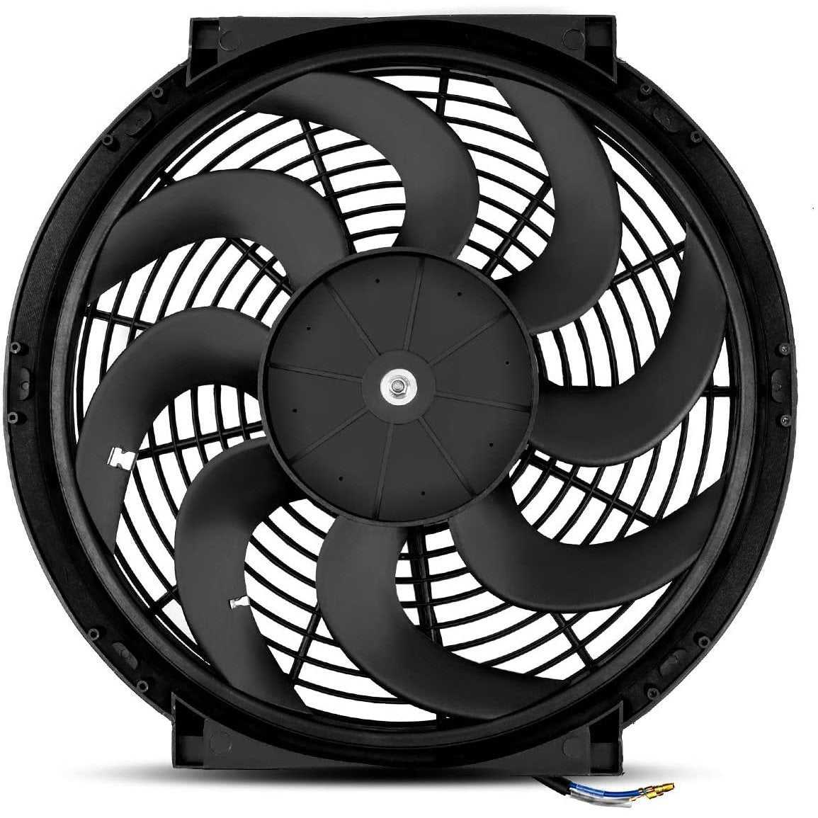 "12"" Inch 12V Electric Fan Upgraded 120w Motor Engine Radiator Cooling High Performance CFM-Single Electric Fans-American Volt-American Volt"