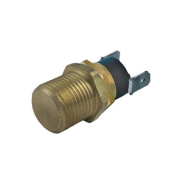 "140'F-210'F Electric Radiator Fan Thermostat Switch 1/8"" 1/4"" 3/8"" 1/2"" Inch NPT Water Temperature Sensor Probe-Power Thermostats-American Volt-1/8"" NPT-140'F On - 125'F Off-American Volt"