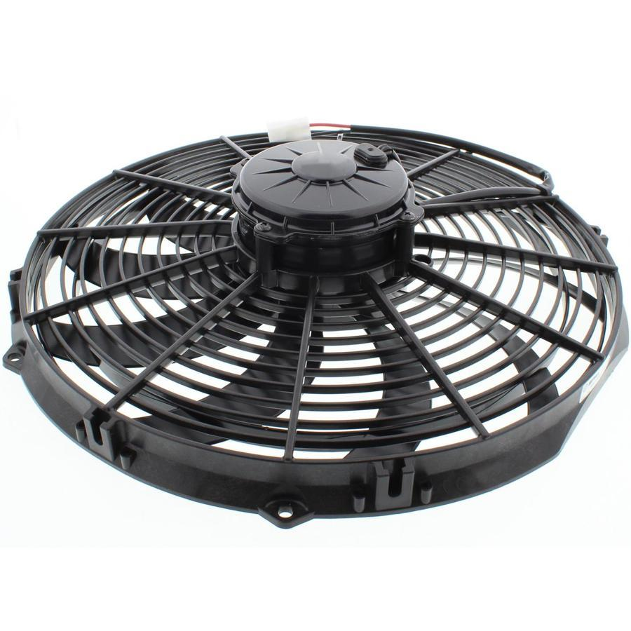 "16"" Inch Automotive 180W Motor Electric Radiator Cooling Fan 12 Volt High Performance CFM Car Truck-Single Electric Fans-American Volt-American Volt"
