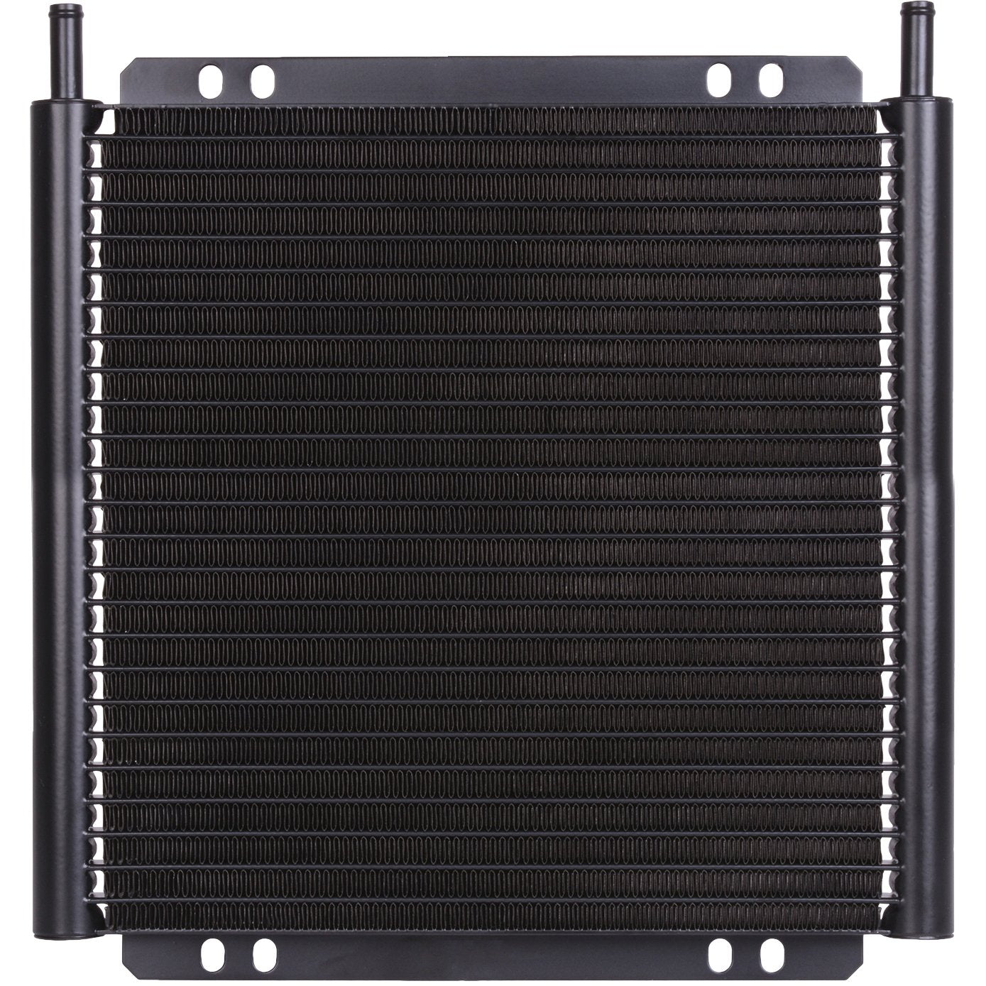 "30 Row Engine Transmission Oil Cooler 8 Inch Electric Fan Thermostat Temperature Switch In-Line Wire Kit-Oil Cooler-American Volt-6AN-1/8"" NPT-140'F On - 125'F Off-American Volt"